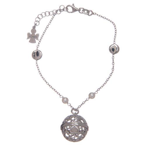 AMEN silver 925 angel caller bracelet