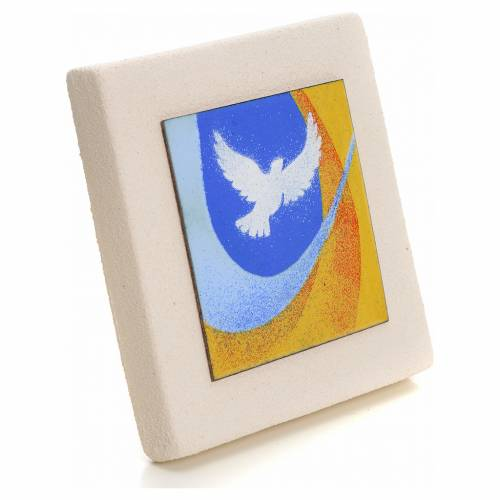 Elegant Square for Confirmation in Clay