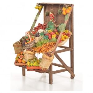 Nativity accessory, greengrocer's stall 20x27x44cm