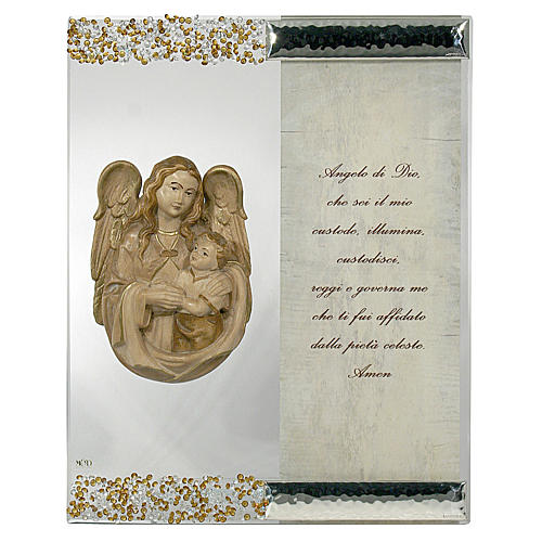 Picture Sculpture Angel and Prayer
