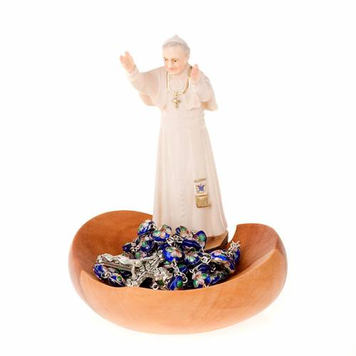 Rosary Case or Holy Water Font - John Paul II