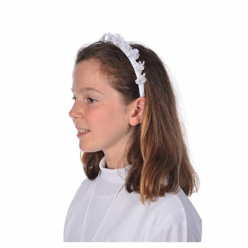 floral circle for first communion dress