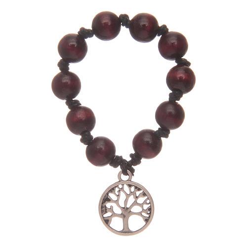 ten rosary bracelet tree of life