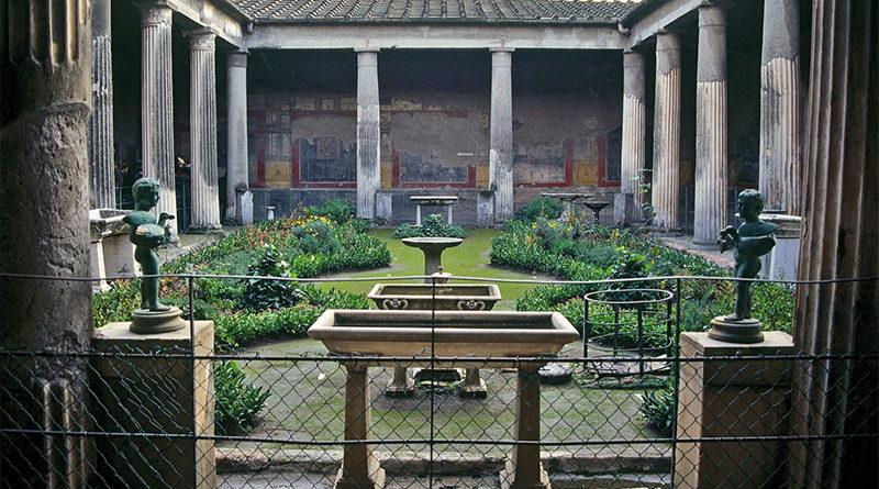 Ancient garden Rome