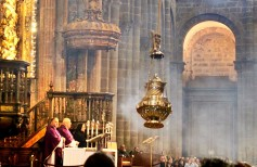 The Botafumeiro, the largest thurible in the world