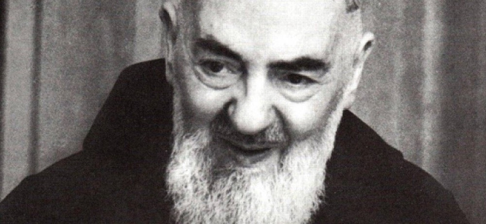 Padre Pio blessing