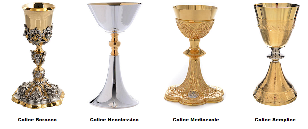 The style of the priest Chalice
