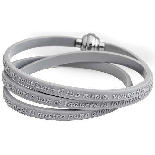 AMEN 925 sterling silver slave bracelet with writings