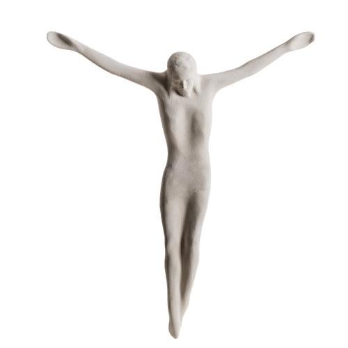 Bas-relief Jesus Christ body, 44 cm
