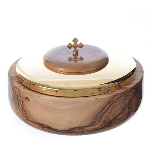 Ciborium olive wood Holy Land