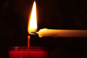 Why lighting up a candle in church
